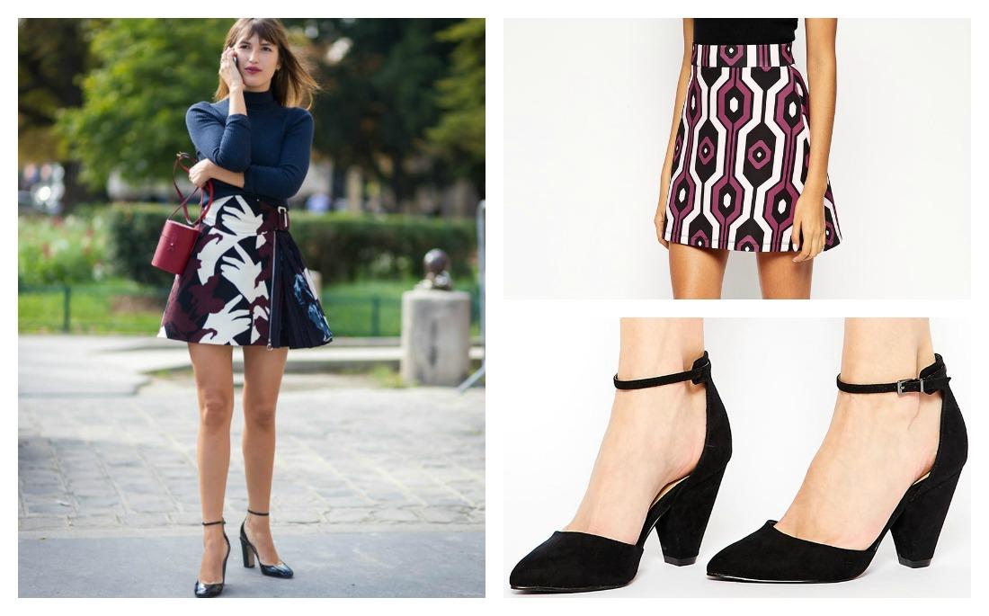 a466cecffba ΑΥΤΟΣ είναι ο πιο κομψός τρόπος να φορέσεις την μίνι φούστα σε Α ...