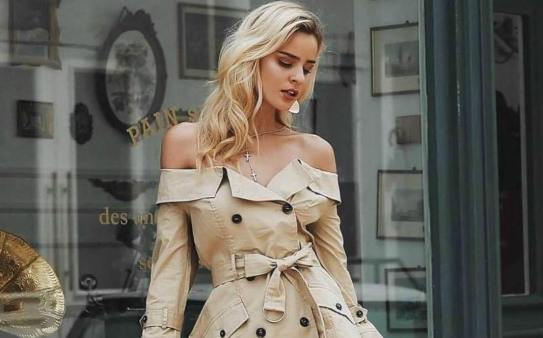Καμπαρντίνα ή φόρεμα  - AllYou.gr e18e194200f